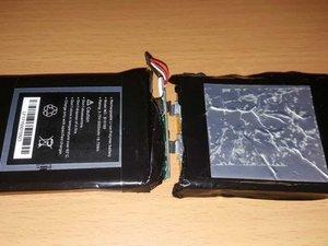 Batería y antena wifi