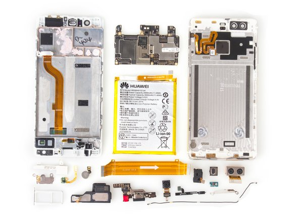 How to reassemble Huawei P9 after whole teardown?