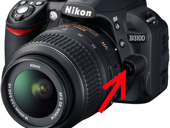 The problem is that the autofocus can not adjust correctly. There can be more than one solution.
