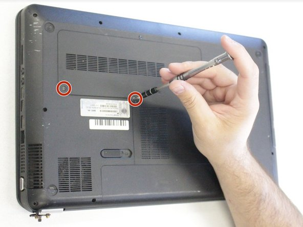 HP Pavilion g7-1368dx  Hard Drive Replacement