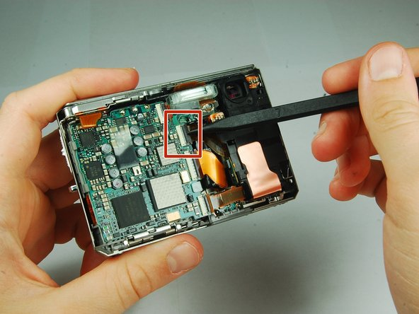 Sony Cyber-shot DSC-T1 CCD Sensor Module Replacement