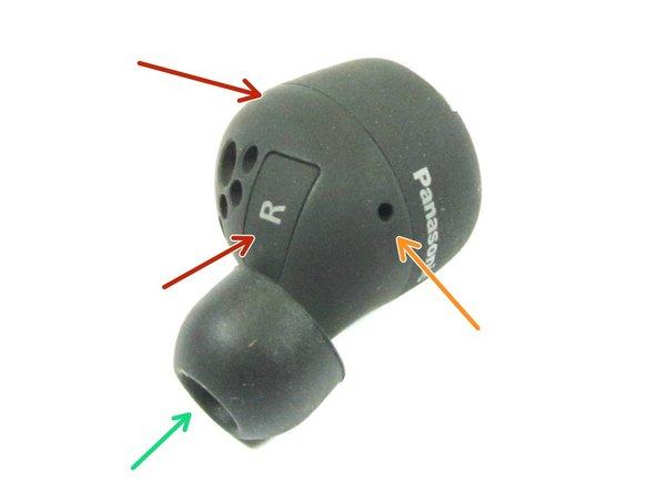 Side views of Headphone