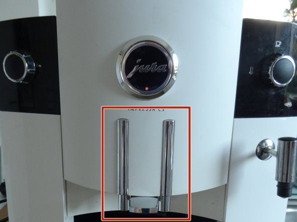Jura Impressa C E F models coffee dispenser replacement