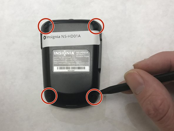 Insignia NS-HD01A Battery Replacement