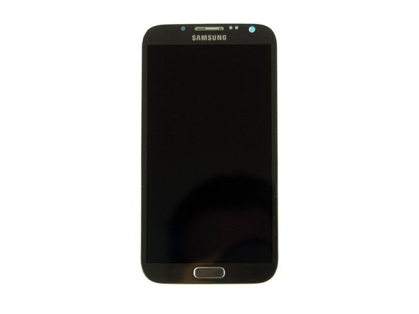Samsung Galaxy Note II 2 Display Assembly N7100 (LCD Digitizer Front Panel)张主要图片