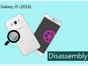Samsung Galaxy J5 (2016) Disassembly
