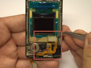 Outside and Inside LCD Screen