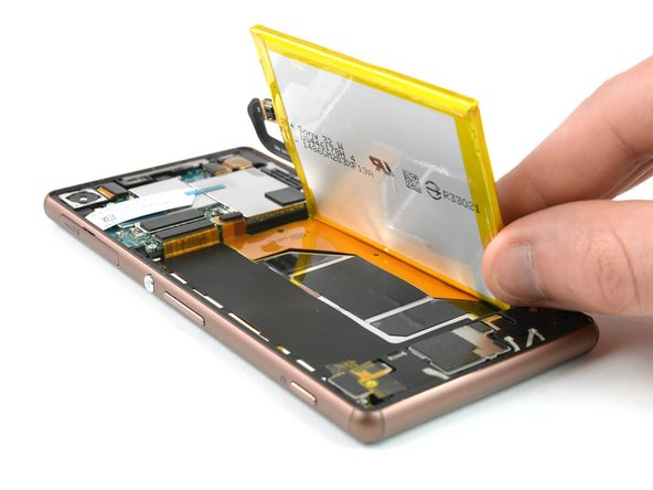 Sony Xperia Z3 Akku Austausch