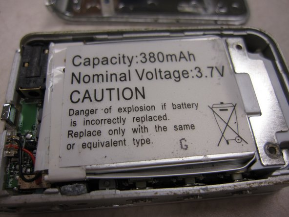 Samsung TFT Color YP-T7J The Battery Replacement