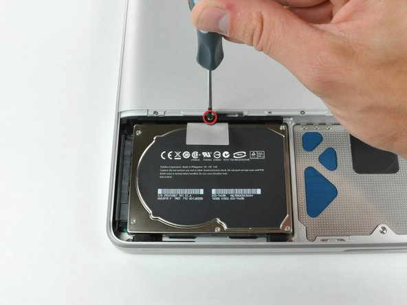 MacBook Unibody Model A1278 Hard Drive Replacement
