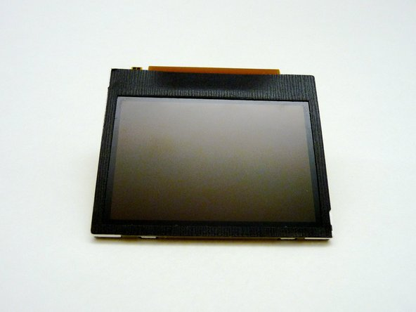 The LCD can now be cleaned or replaced.