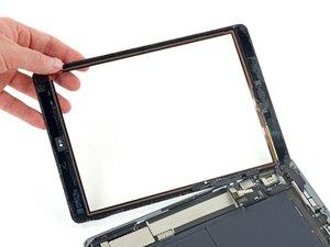 Remplacement de l'ensemble panneau frontal de l'iPad Air LTE