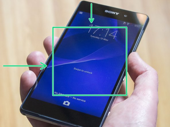 How to repair backlight in Sony Xperia Z2