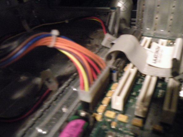 Removing the power supply