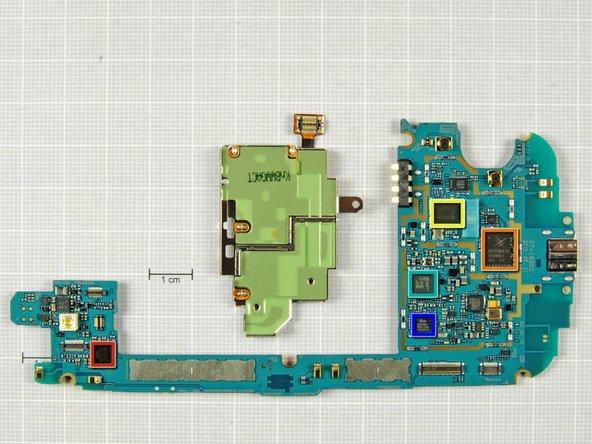 Bottom of motherboard: