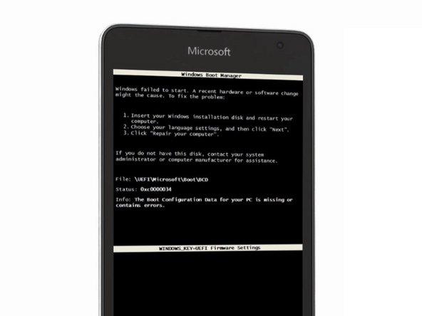 Windows 8/8.1 Windows 10 Boot Manager Error Solution