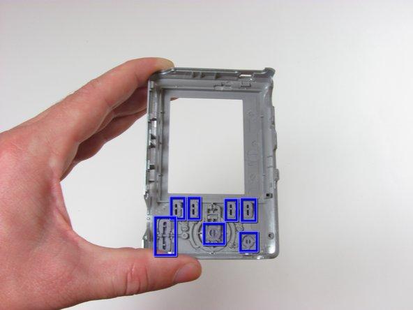 Remplacement des boutons du Kodak EasyShare C913