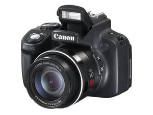How to clean sticky Canon PowerShot SX Series buttons