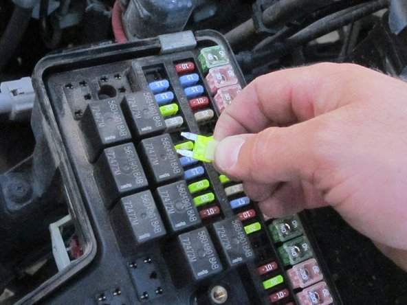 2002-2008 Dodge Ram 1500 Fuse Replacement