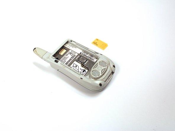 Motorola i450 Boost Mobile SIM Card Replacement