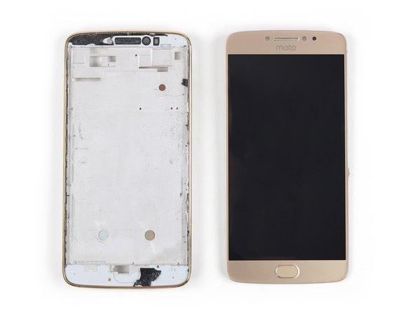 Remplacement de l'écran LCD et de la vitre tactile du Motorola Moto E4 Plus
