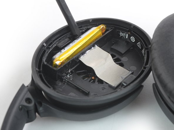 Try not to deform or puncture the battery during the following removal process. Soft-shell lithium-ion batteries can leak dangerous chemicals, catch fire, or even explode if damaged.