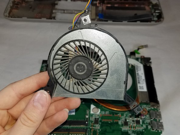 HP Pavilion 14-v062us Fan Replacement