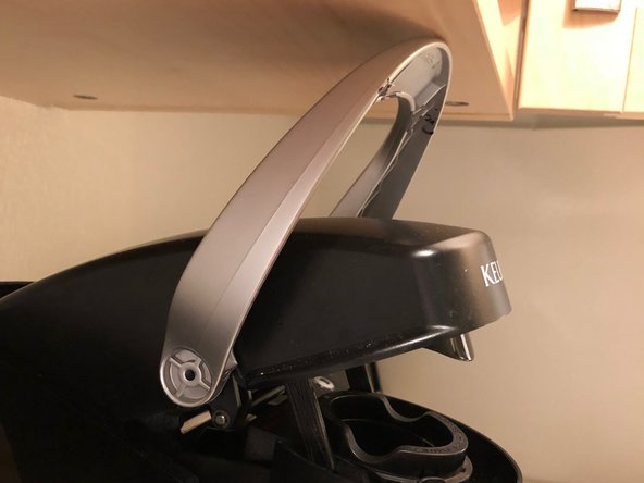 How to Fit Your Keurig Elite Under Low Cabinets