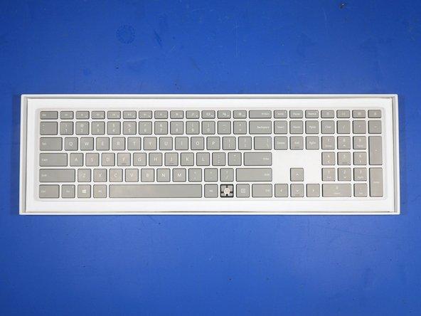 Microsoft Surface Keyboard (WS2-00025) Teardown