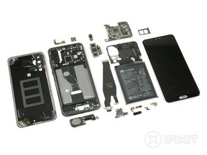 Vue éclatée du Huawei P20 Pro