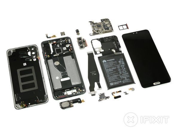 Time to move on! Throw a last glance at the insides of the three-eyed phone from Huawei and look forward to more teardown fun from iFixit!