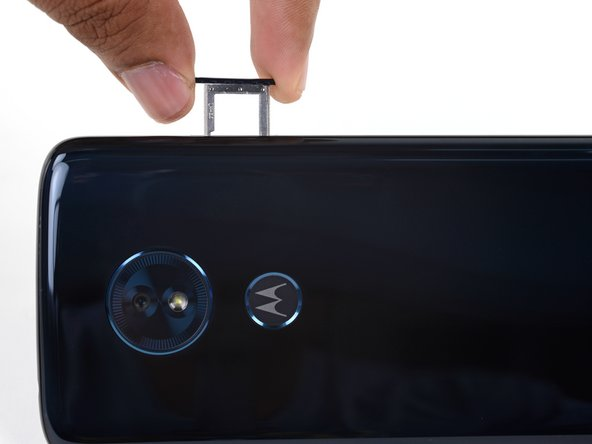 Moto G6 Play SIM Card Tray Replacement