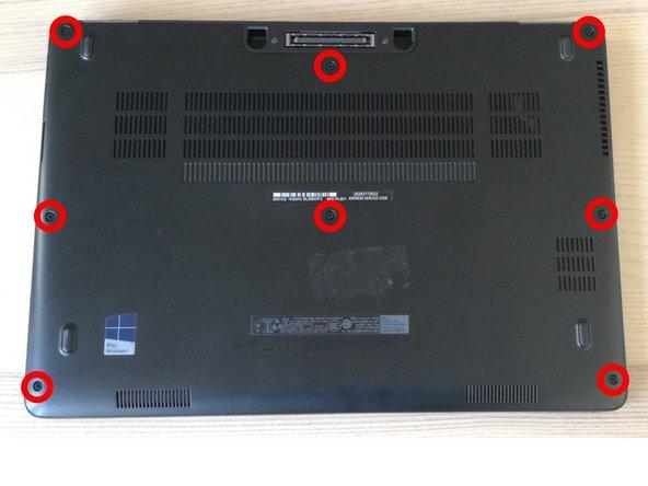 Remplacement RAM Dell Latitude E7470