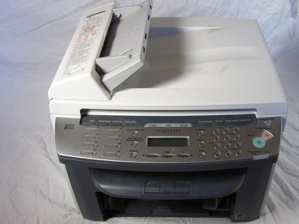 Canon ImageCLASS MF4350d Scanner Disassembly