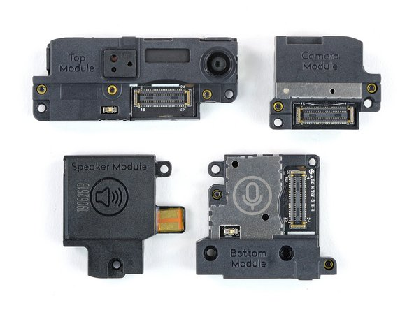 The Fairphone 3 comes with this family of modules: