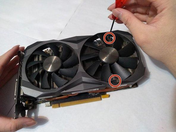 Zotac GTX 1080 Ti Mini Fans Replacement