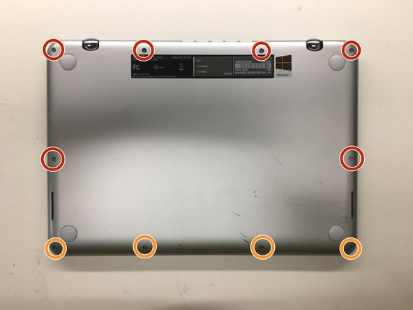 Asus Q304UA Hard Drive Replacement