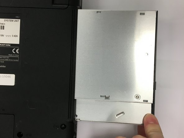 Toshiba Satellite L455-S5046 Optical Drive Replacement