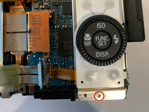 Canon PowerShot G1 X Buttons Replacement