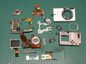 Canon PowerShot S500 Teardown