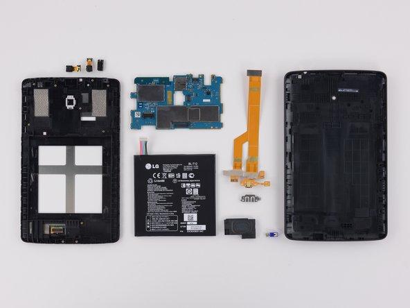 LG G Pad 7.0 Repairability Assessment