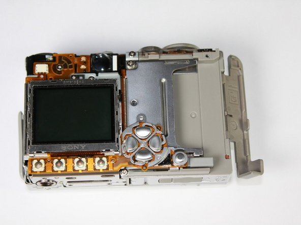 Canon PowerShot S410 LCD Screen Replacement