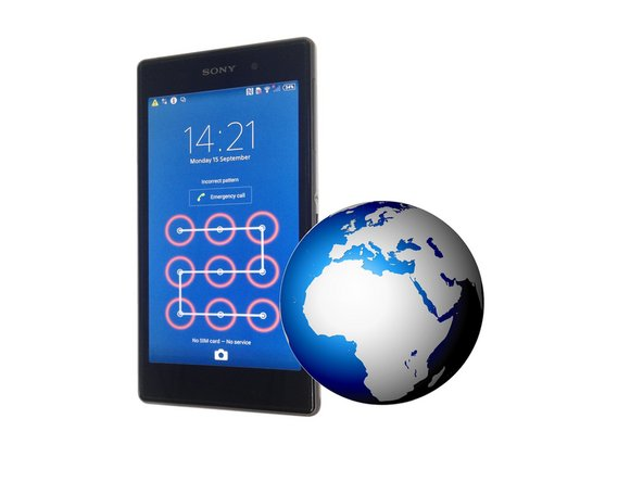 Sony Xperia Z1  - Password Removal, Firmware update with PC Companion