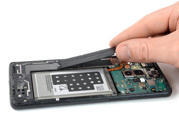 Remplacement du cache de la carte mère du Samsung Galaxy S9 Plus