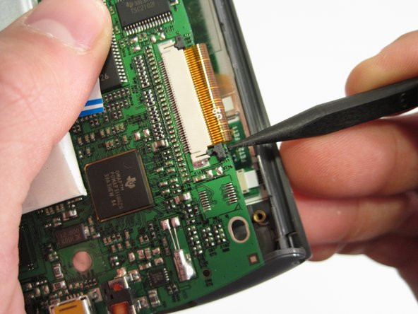 Replacing Tungsten E screen. PAL5037