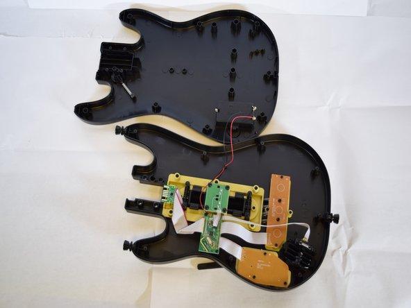 Activision Guitar Hero Live Guitar Controller Casing Replacment