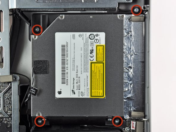 """iMac Intel 27"""" EMC 2309 and 2374 Optical Drive Replacement"""