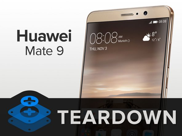 What's in the aluminum body of the Mate 9?