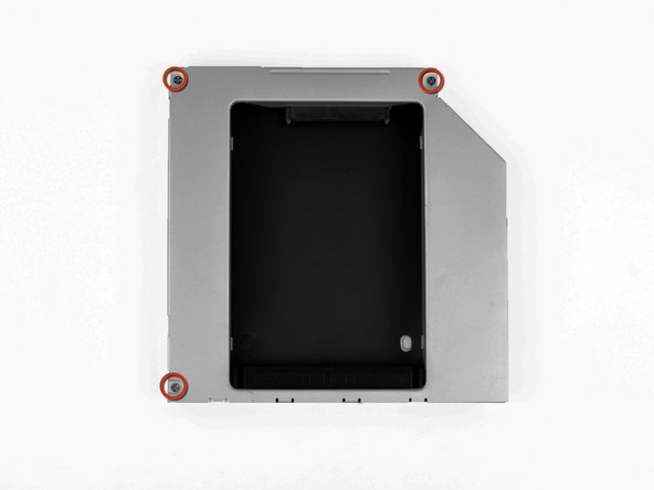 Optical Drive Enclosure Faceplate
