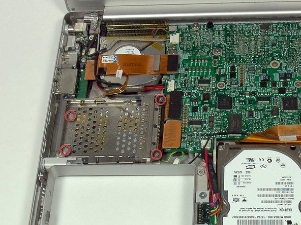 """PowerBook G4 de aluminio de 15"""" Sustitución de 1,67 GHz PC canastilla para tarjetas"""